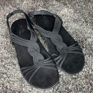 Easy Spirit 11 black sandals